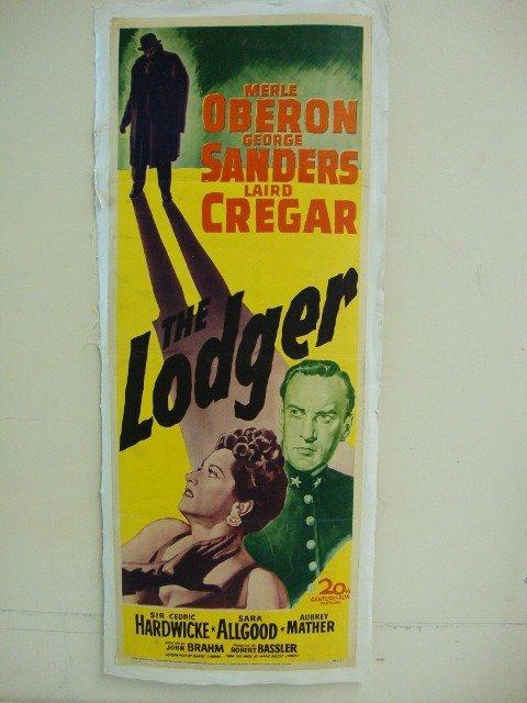 THE LODGER INSERT