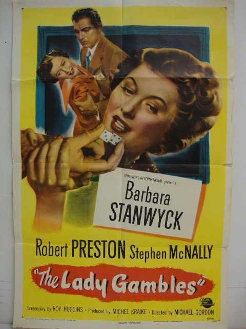 THE LADY GAMBLES MOVIE POSTER