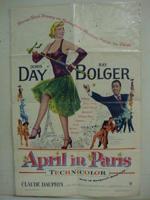 APRIL IN PARIS MOVIE POSTER