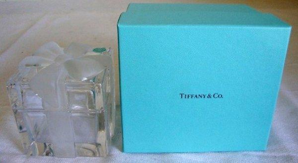 20: TIFFANY AND CO CRYSTAL BOX SGD.