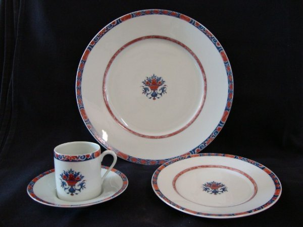 110: LIMOGES  CERALENE RAYNAUD CHINA 36 PCS.