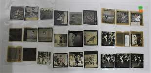 (27) 3x3 Photos From Contact Sheets. (13) 3x3 Negatives
