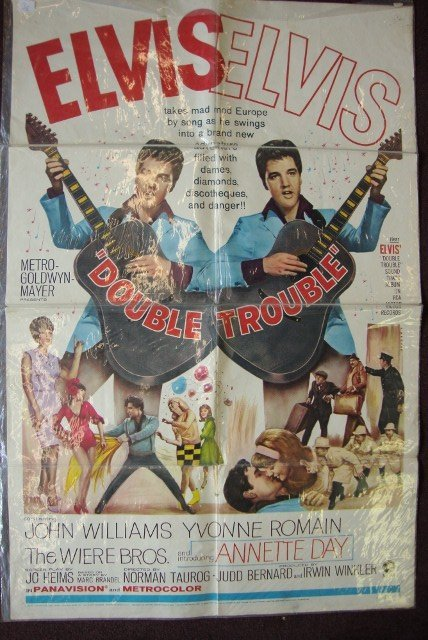 TWO ELVIS PRESLEY MOVIE POSTERS