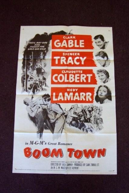 1: BOOMTOWN ONE SHEET MOVIE POSTER