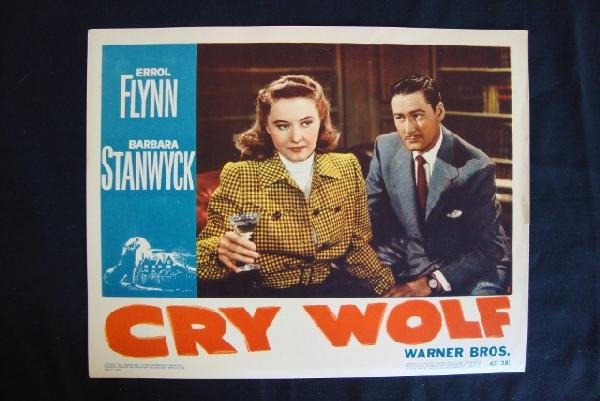 15: CRY WOLF LOBBY CARD