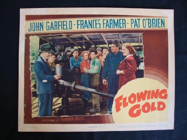 18: FLOWING GOLD LOBBY CARD