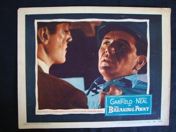 19: THE BREAKING POINT LOBBY CARD