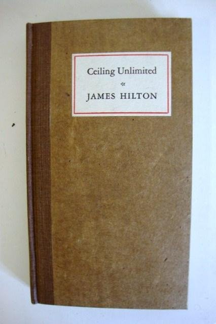 75: CEILING UNLIMITED 72/100 SIGNED BY JAMES HILTON - 3
