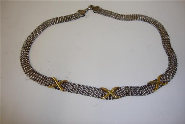 3: STERLING SILVER NECKLACE