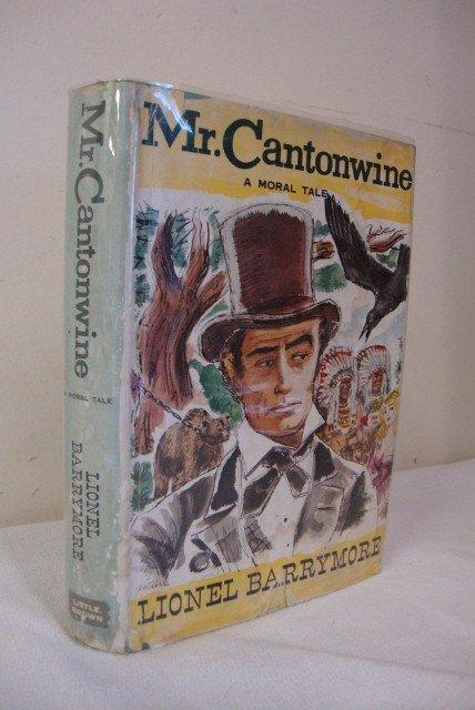 10:SGD. COPY  BARRYMORE, LIONEL - MR. CANTONWINE