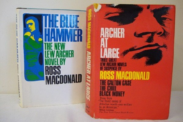 12: MACDONALD, ROSS - TWO FIRST EDITIONS