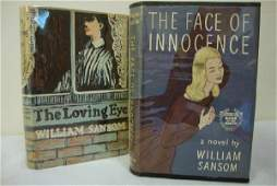 29 SANSOM  WILLIAM  TWO FIRST EDITIONS