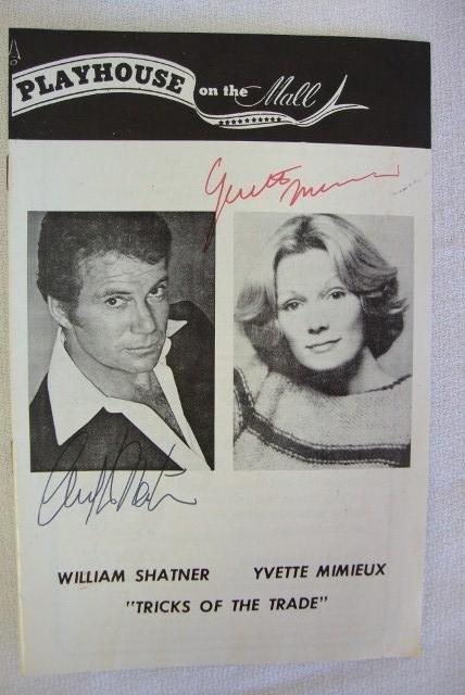 74: WILLIAM SHATNER AUTOGRAPH