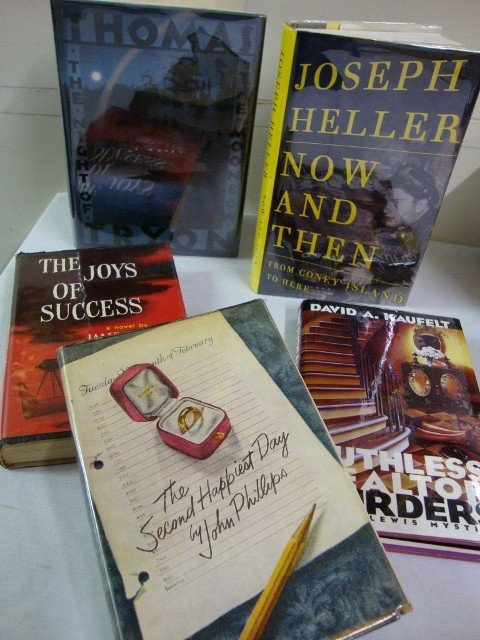 2: 5 SGD. BOOKS -TRYON.HELLER.LORD.PHILLIPS ETC.
