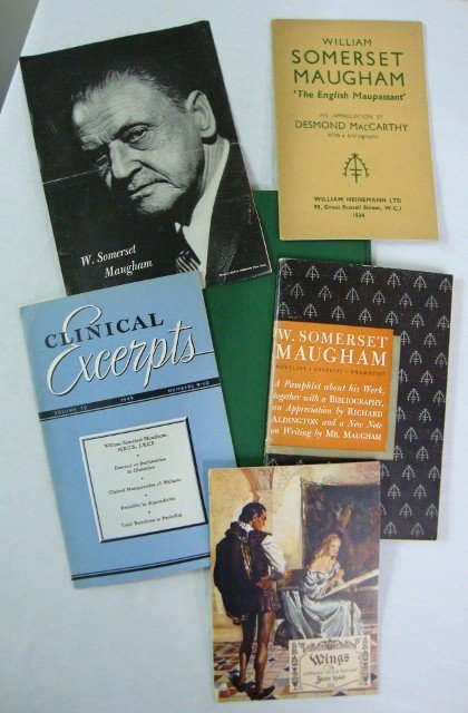 4: W. SOMERSET MAUGHAM BIBLIOGRAPHIES