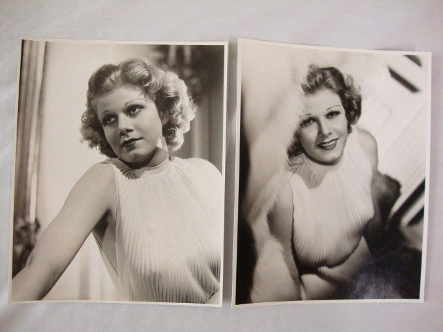 310: JEAN HARLOW PHOTOS TWO BY TED ALLEN