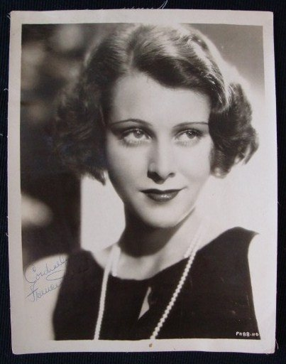 3: FRANCES DEE SIGNED PHOTOGRAPH
