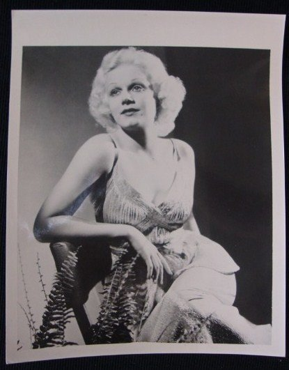 14: JEAN HARLOW KEYBOOK PHOTOGRAPH