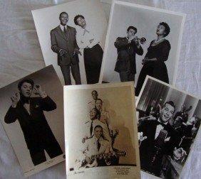 6: SINGERS PUBLICITY PHOTOS - COLE, BAILEY, MARTIN, INK