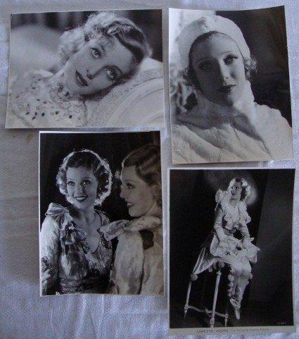 9: LORETTA YOUNG PORTRAITS - INC. E.R. RICHEE (4)