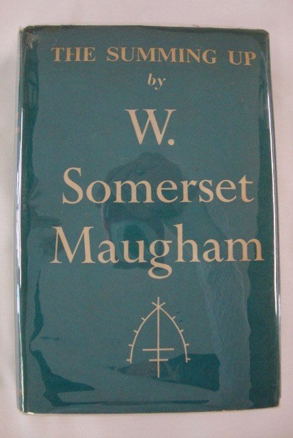 4: MAUGHAM, WILLIAM SOMERSET. THE SUMMING UP