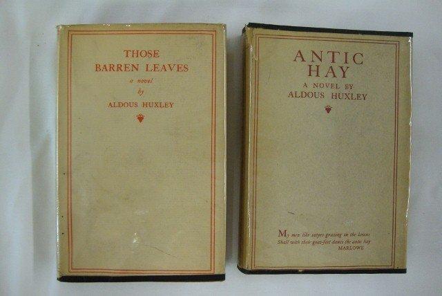 24: HUXLEY - ANTIC HAY & THOSE BARREN LEAVES