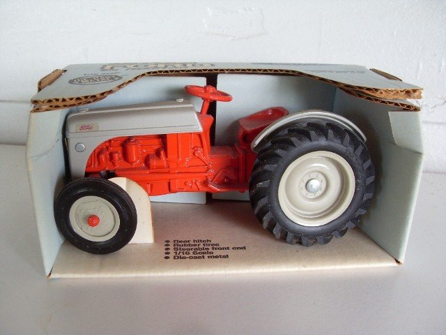 4: FORD 8N TRACTOR