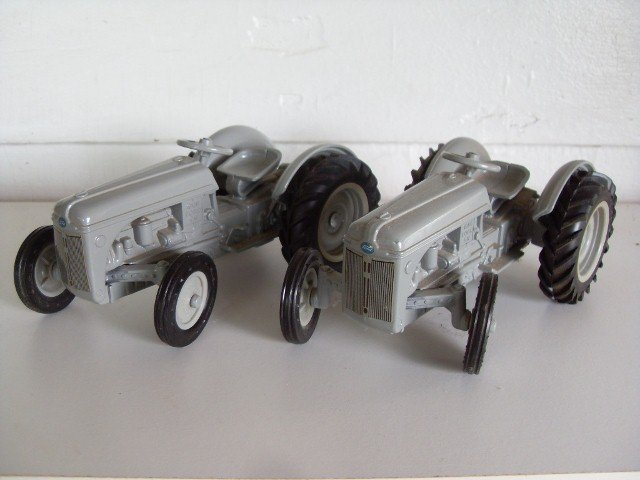10: TWO 1985 FORD 9N TRACTORS