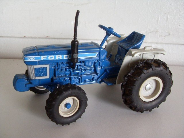 14: TWO FORD 1710 TRACTORS