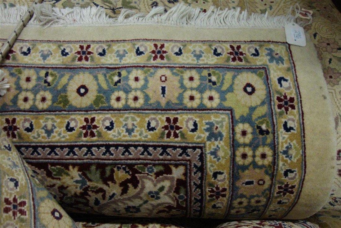 296: PERSIAN KASHAN CARPET