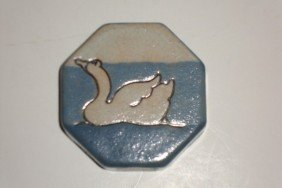 308A: PAUL REVERE 1913 DUCK PAPERWEIGHT