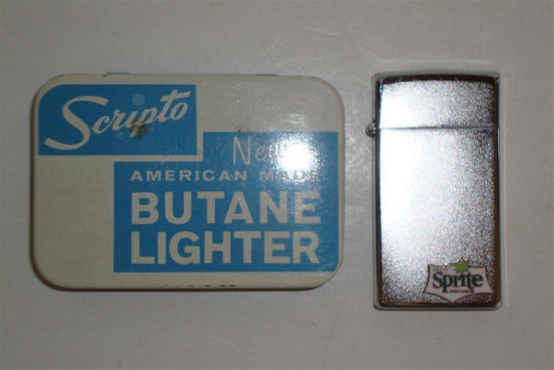 1015: SPRITE SCRIPTO  BUTANE ADVERTISING LIGHTER - 2