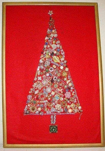 9A: LIBERACE'S COSTUME JEWELRY  CHRISTMAS TREE