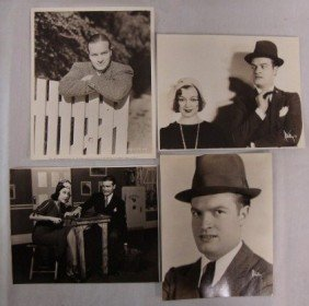 2: BOB HOPE PORTRAITS AND PUBLICITY PHOTOS (4)