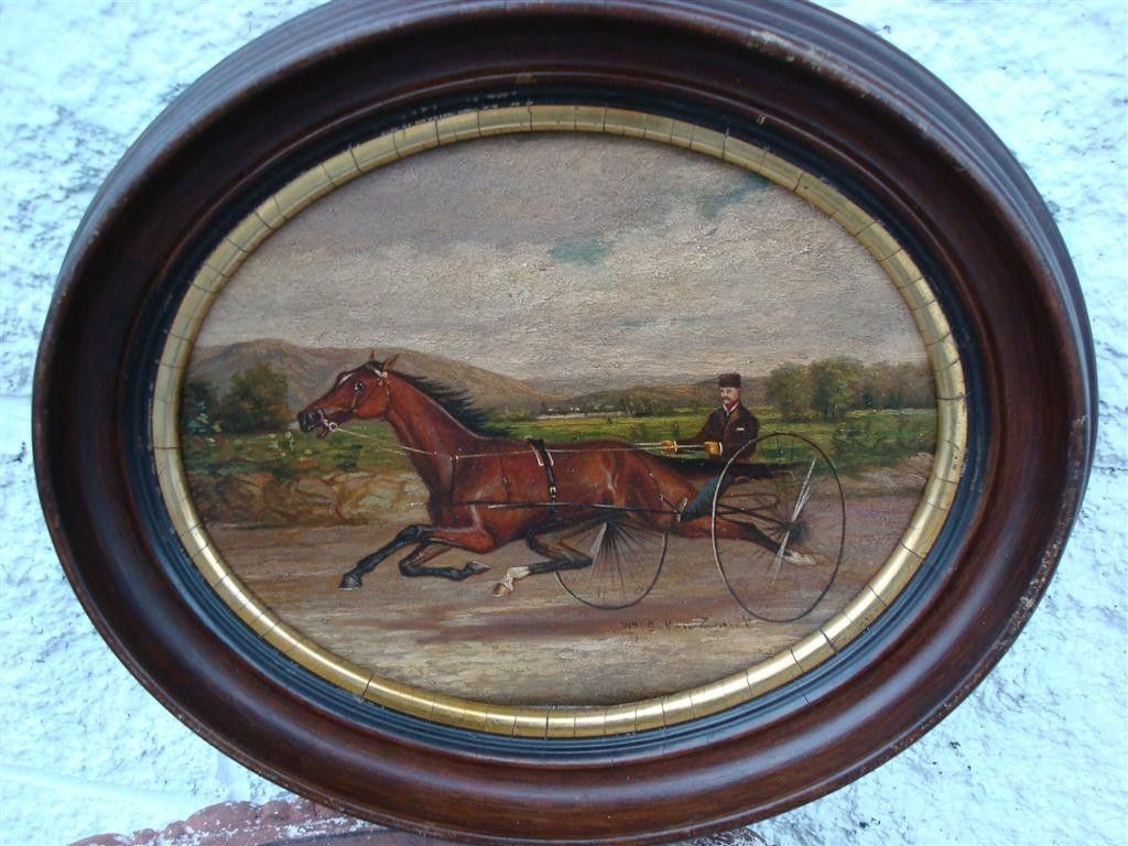 634A: WILLIAM G. VAN ZANDT; OIL PAINTING SIGNED