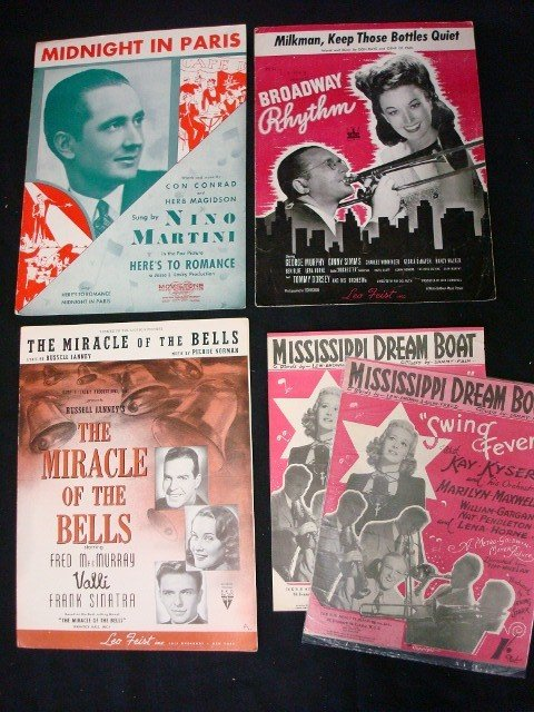 Thirty One Pieces of Sheet Music