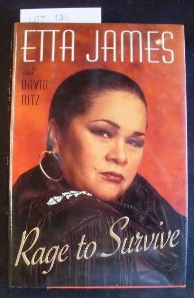 121: ETTA JAMES BOOK, RAGE TO SURVIVE