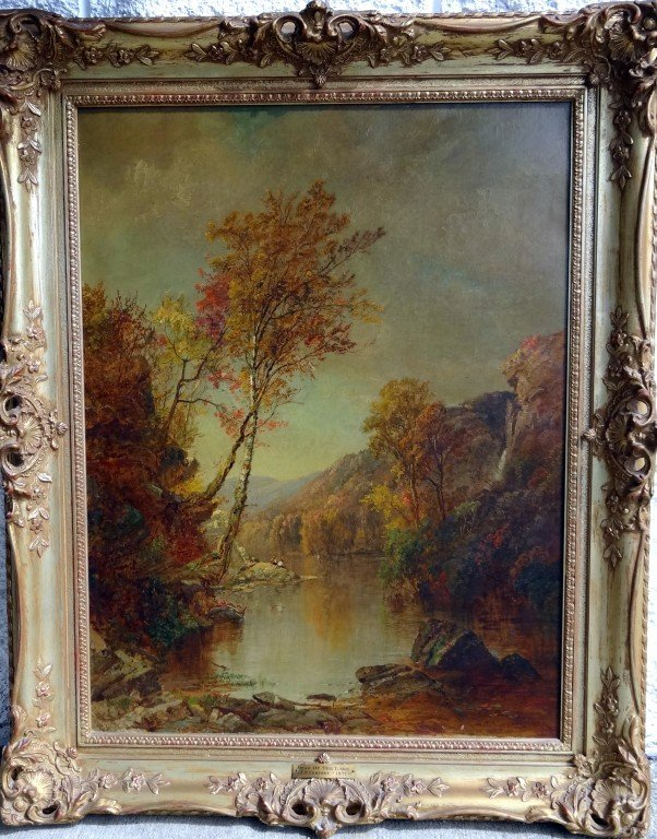 786: JASPER FRANCIS CROPSEY OIL, SIGNED