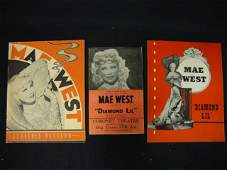 Mae West Programs & Poster
