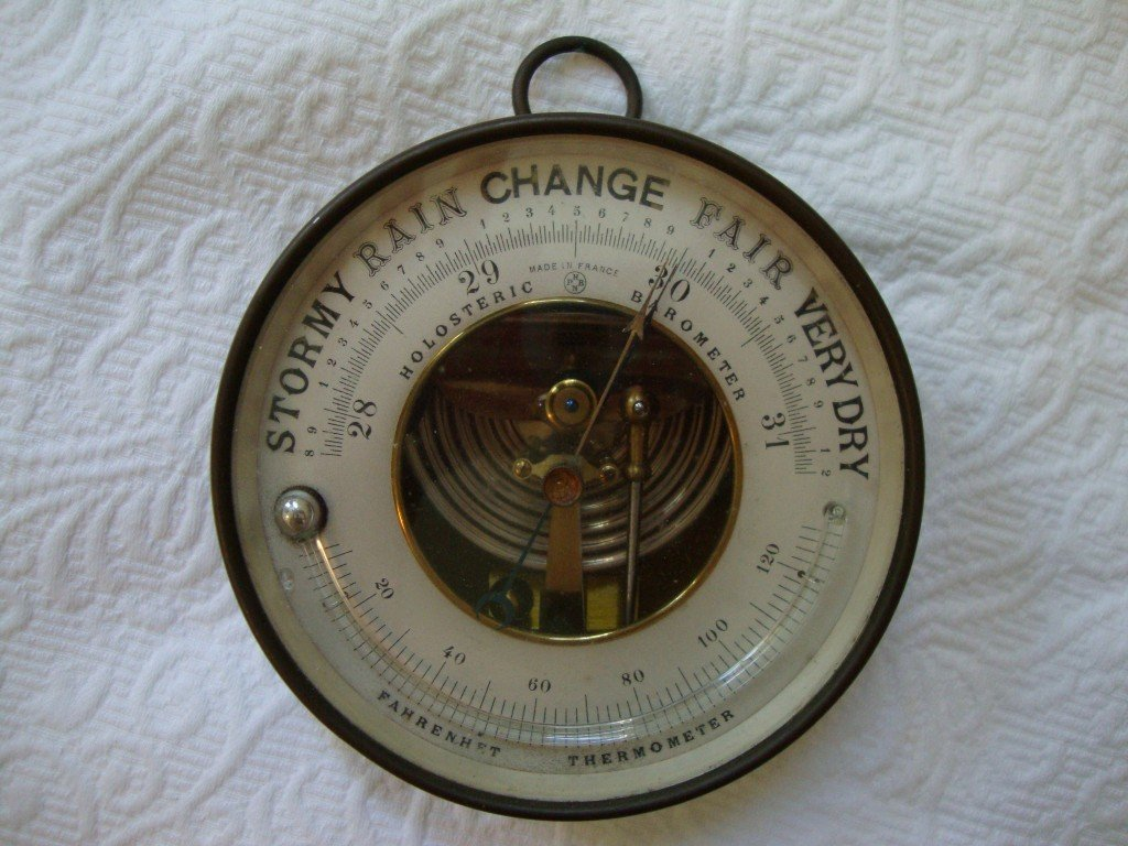 1: French Antique Barometer