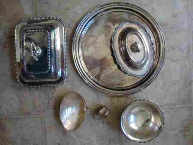 3: A Lot of Silver Plate