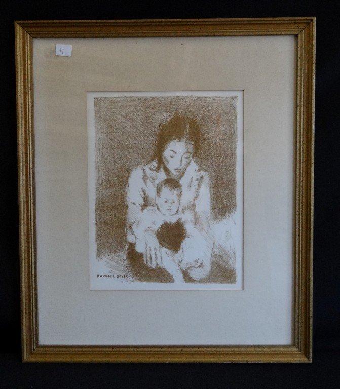 11: Raphael Soyer Print