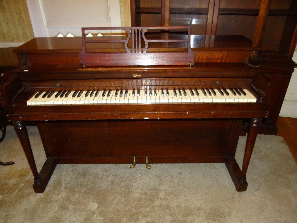 220: Winter & Company Upright Piano