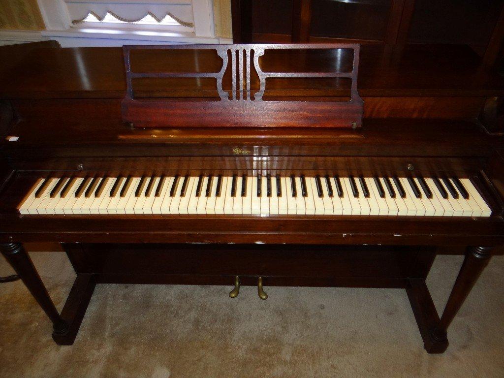 220: Winter & Company Upright Piano - 2