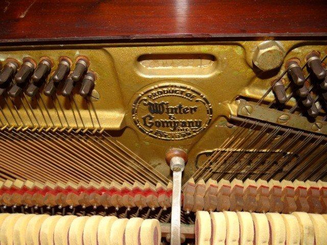 220: Winter & Company Upright Piano - 5