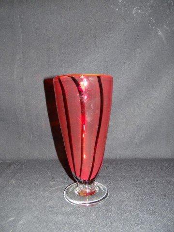 16A: Italian glass vase