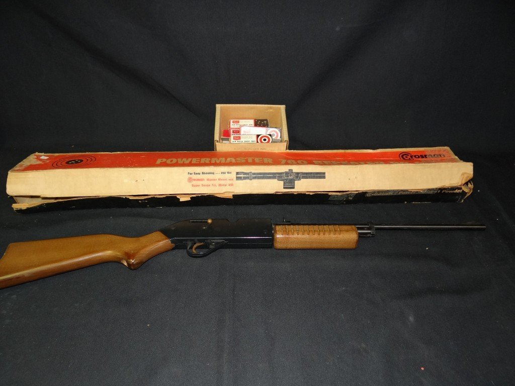 3: Vintage Crossman BB rifle