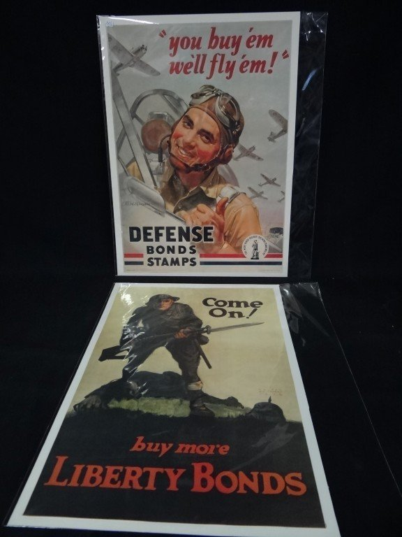 14: Two(2) Military posters