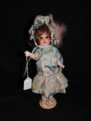 21: Armand Marseilles Bisque Head Doll