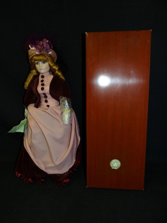 22: Dynasty Bisque Head Doll Madeline
